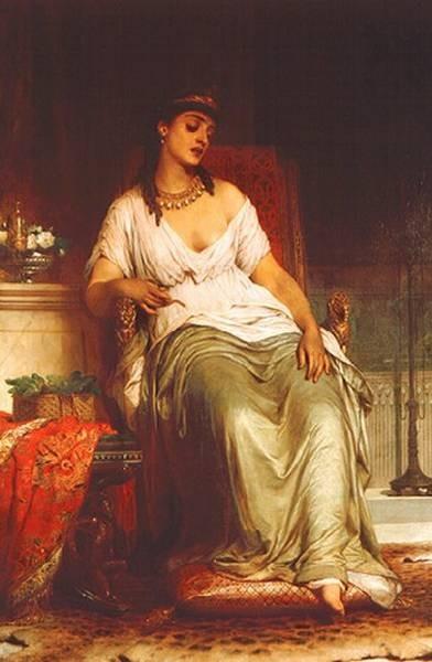 Dicksee Thomas Francis Cleopatra